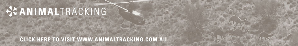 ANIMAL TRACKING - Click here to visit www.animaltracking.com.au